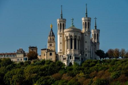 Monument touristique Lyçonnais : Notre Dame de Fourvière - Basilique - Cathédrale