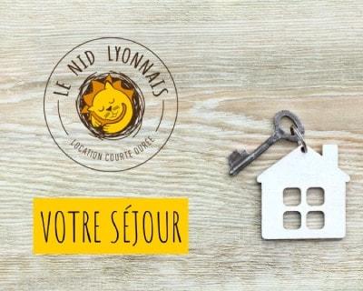 logo le nid Lyonnais - Accueil touristique séjour courte durée