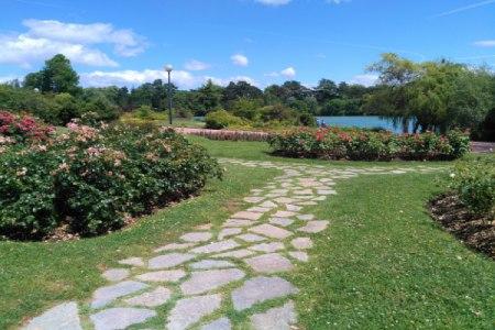 parc de Gerland - lieu paisible de balade loin de la foule lyonnaise